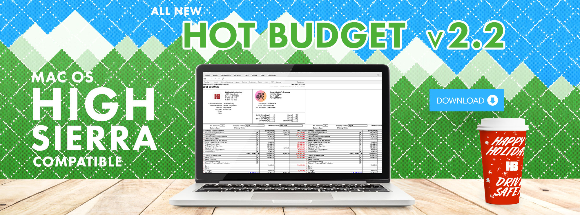 New Version Hot Budget 2.2